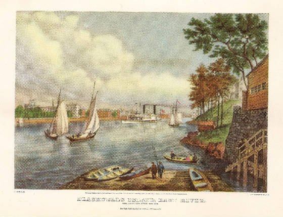 Blackwell's Island by Fannie Palmer