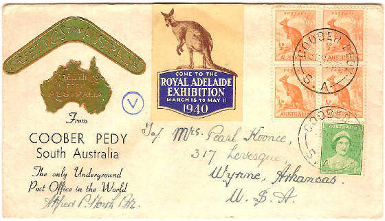 Coober Pedy Cover