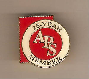 American Philatelic Society 25 Year Pin