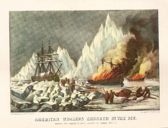American Whalers Crushed In the Ice