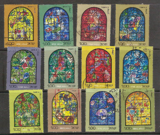 Chagall 12 Tribes