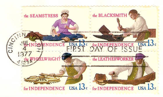 Seamstress, Blacksmith, Wheelwright & Leatherworker