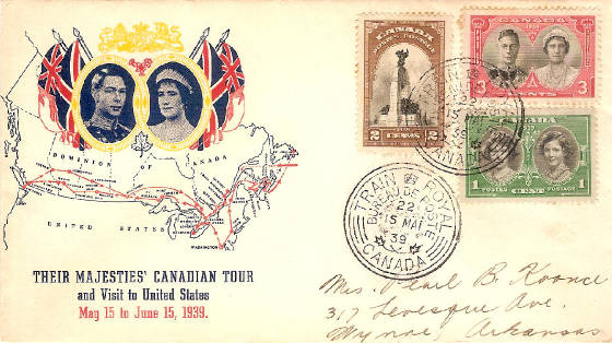 Royal Train FDC