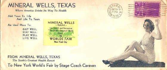 SMineral Springs 1939 World's Fair Cover
