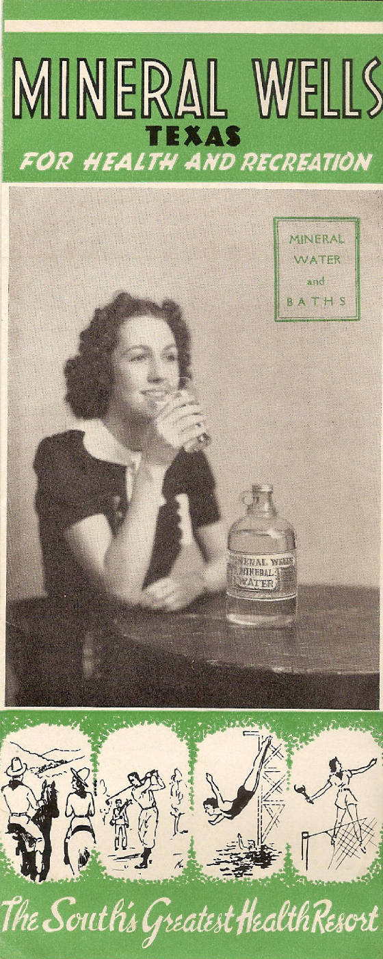 Mineral Springs Pamphlet 1939
