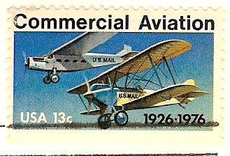 Commercial Aviation Contract Airmail