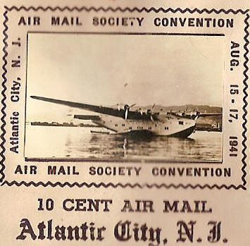 Air Mail Society Atlantic City