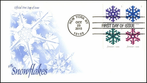 Snowflakes - The Last ArtCraft First Day Cover